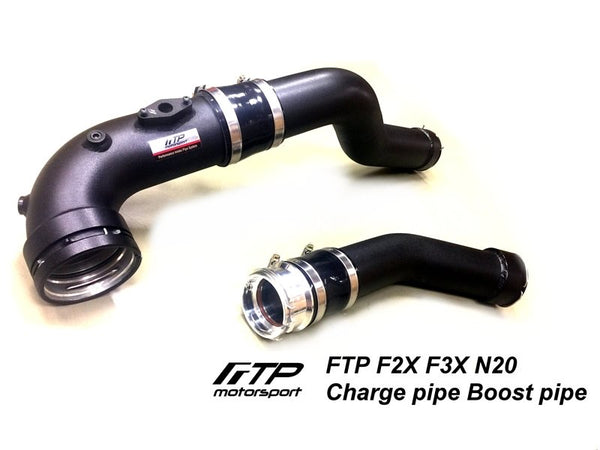 FTP F2X F3X N20 Charge Pipe / Boost Pipe Combination Package