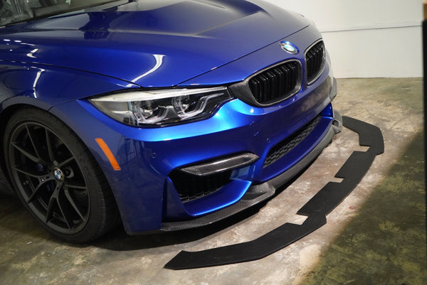 ECPR - BMW F8x M3/M4 Splitter for Carbon Fiber CS Lip
