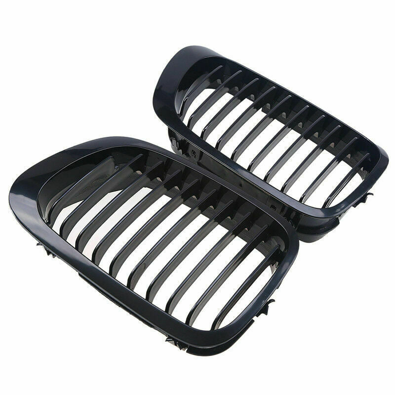 BMW E46 Coupe Gloss Black Kidney Grilles