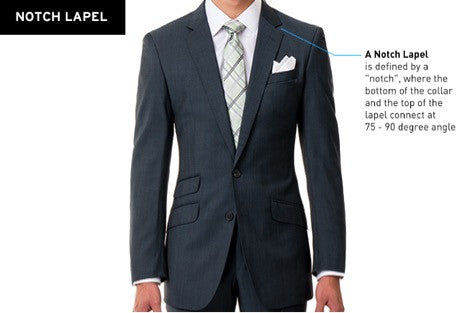 Sootz Notch Lapel