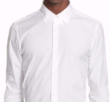 Sootz Everyday White Custom Dress Shirt - Sootz