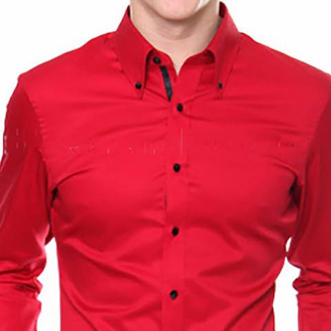 e4fe9ad3014 Sootz Blazing Red Custom Dress Shirt