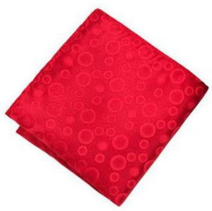 Pocket Square - Sootz Clear Red Pocket Square