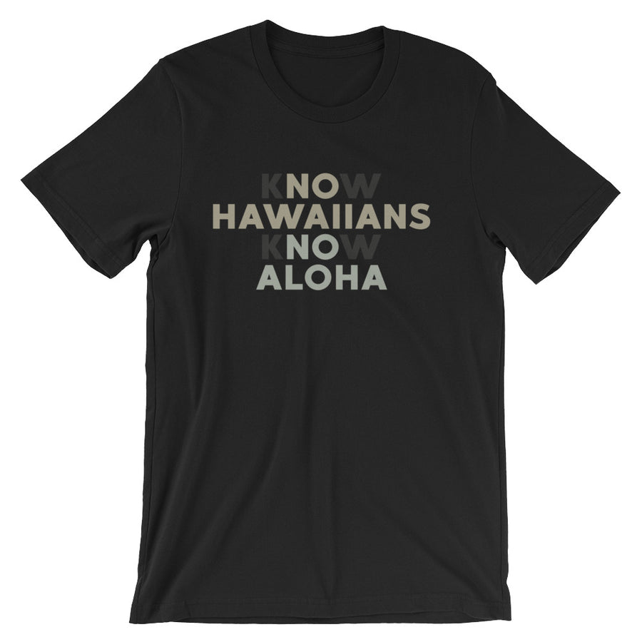 Know Hawaiians Know Aloha - alohanawear