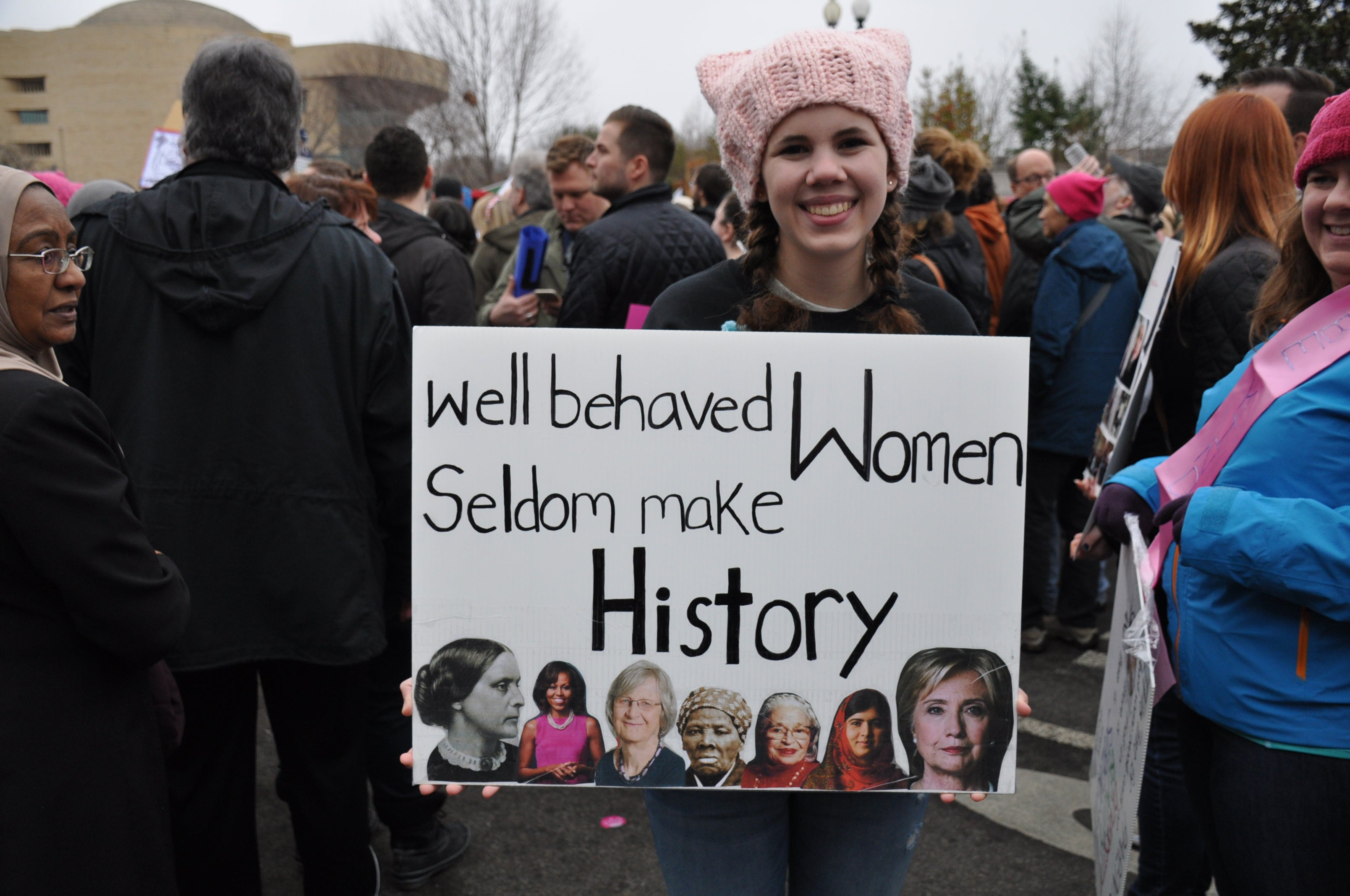 15 Favorite Signs From the DC Women's March 2017 (Social Justice)