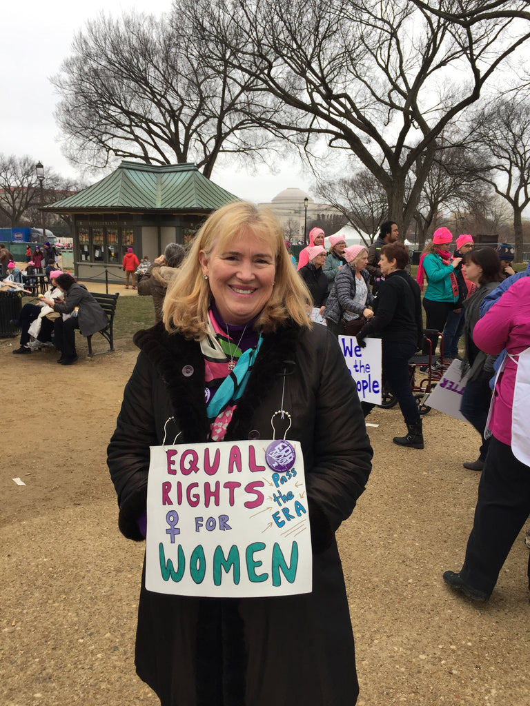 Women's March Walking for the Equal Rights Amendment Washington DC 2017