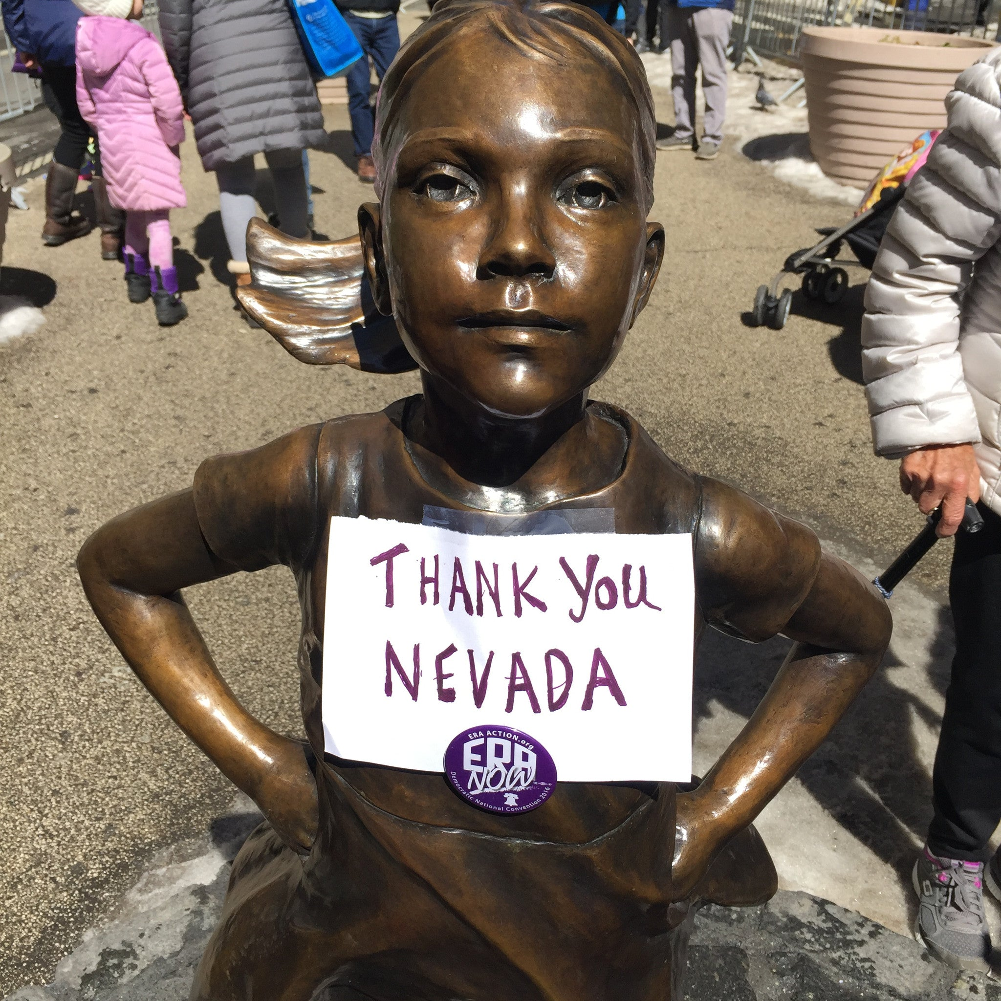 Historic Moment for US Women Nevada becomes the 36th State to ratify the Equal Rights Amendment