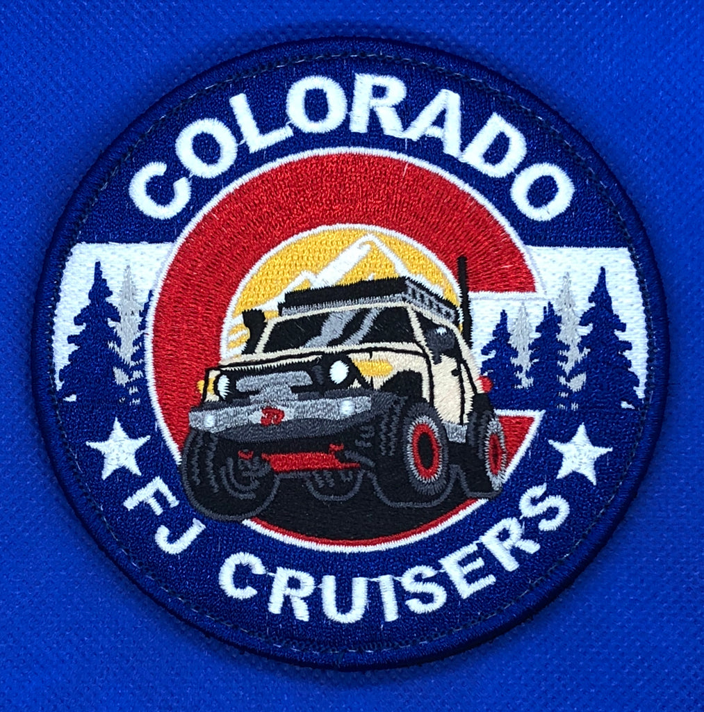 COFJC Embroidered Club Patch
