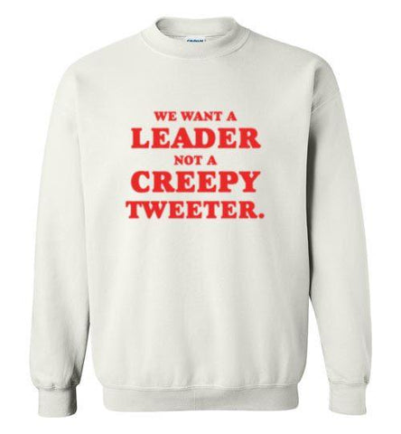 Creepy Tweeter Crew Neck