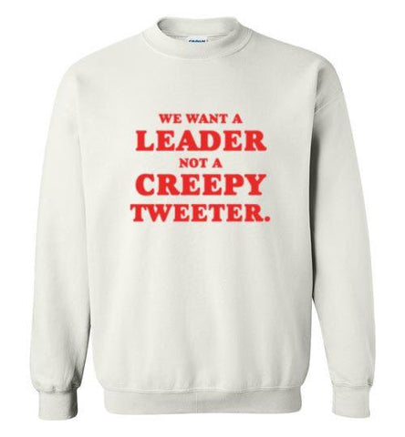 Creepy Tweeter Crewneck