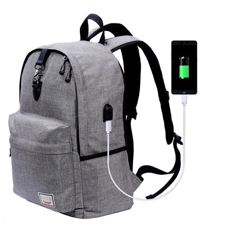 Grey is Good Travel Backpack