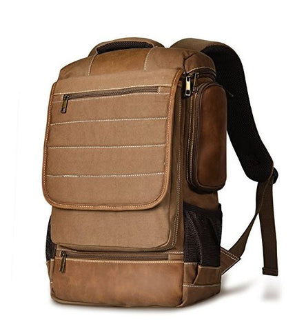 Canvas Duffel Laptop Backpack