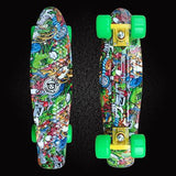 Abstract Penny Boards