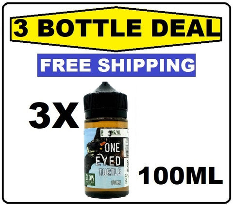 Micro Brew Vapor - One Eyed Turtle 100mL