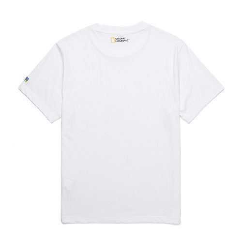National Geographic 2 Pack Cotton T-shirts White N202UPA910010  - HALLYU MART