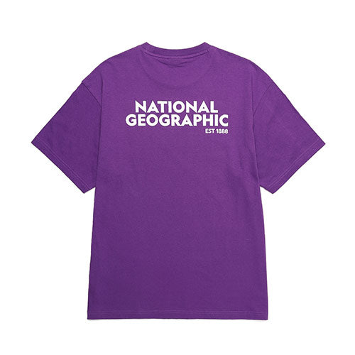 National Geographic Terrapin Overfit T-shirts Violet N202UTS920024  - HALLYU MART