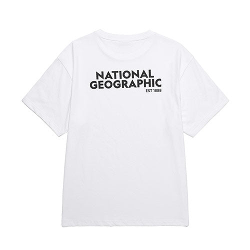 National Geographic Terrapin Overfit T-shirts White N202UTS920010  - HALLYU MART
