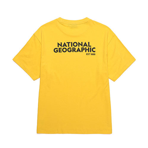 National Geographic Terrapin Overfit T-shirts Yellow N202UTS920040  - HALLYU MART