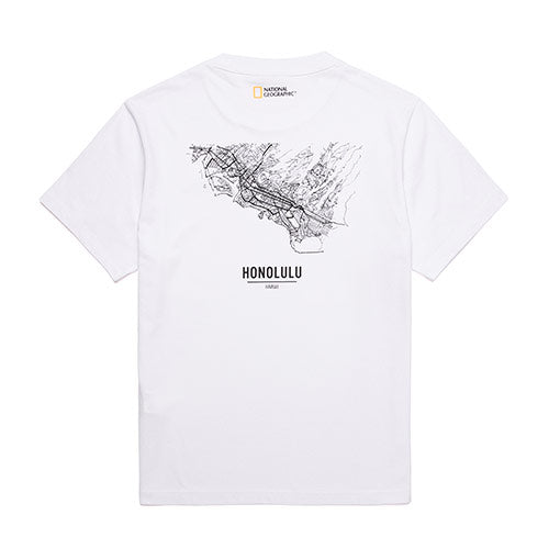 National Geographic Hot Summer Concept T-shirts White N202UTS540010  - HALLYU MART