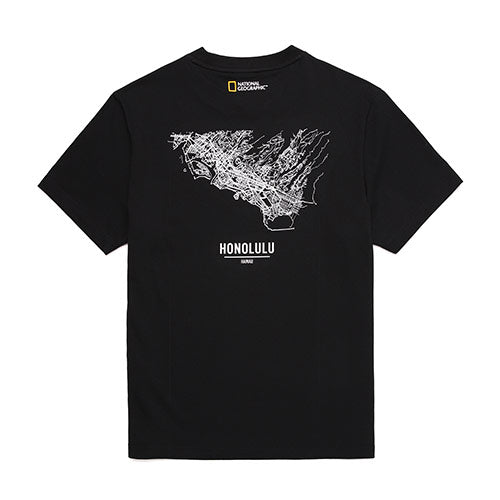 National Geographic Hot Summer Concept T-shirts Carbon Black N202UTS540198  - HALLYU MART