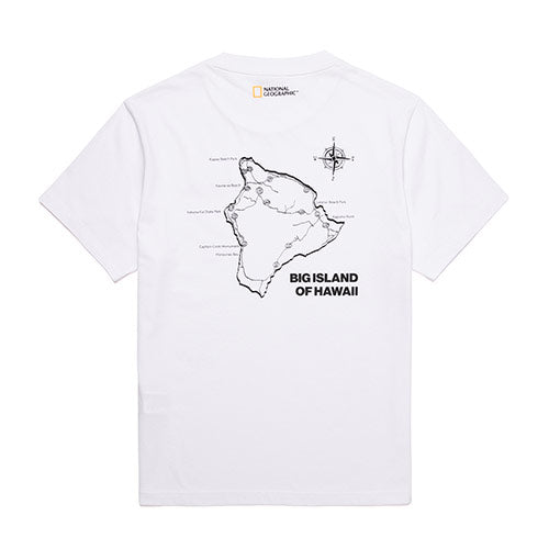 National Geographic Hot Summer Concept T-shirts White N202UTS570010  - HALLYU MART