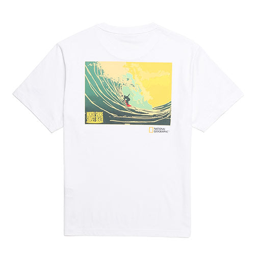 National Geographic Hot Summer Concept T-shirts White N202UTS510010  - HALLYU MART