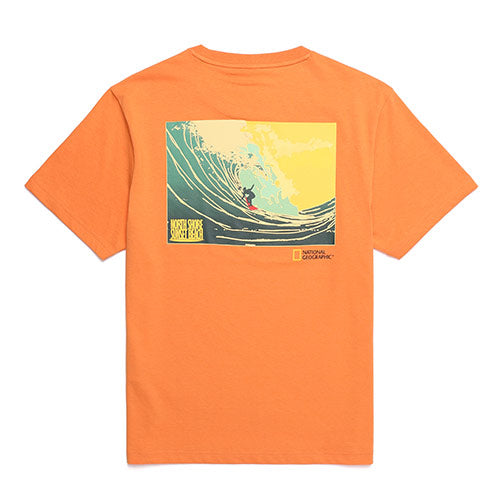 National Geographic Hot Summer Concept T-shirts Orange N202UTS510030  - HALLYU MART