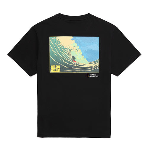 National Geographic Hot Summer Concept T-shirts Carbon Black N202UTS510198  - HALLYU MART