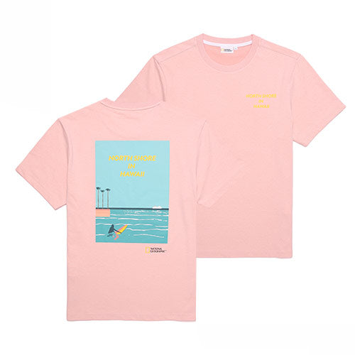 National Geographic Hot Summer Concept T-shirts Peony Pink N202UTS520300  - HALLYU MART