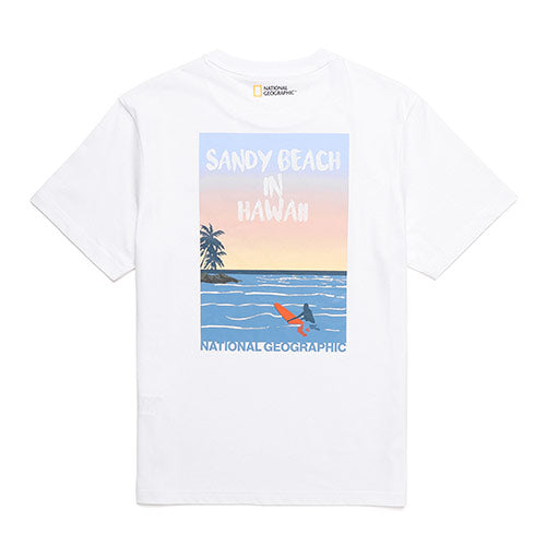 National Geographic Hot Summer Concept T-shirts White N202UTS550010  - HALLYU MART