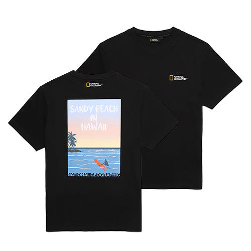 National Geographic Hot Summer Concept T-shirts Carbon Black N202UTS550198  - HALLYU MART