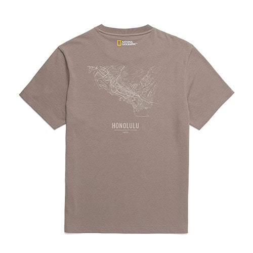 National Geographic Hot Summer Concept T-shirts Beige N202UTS440070  - HALLYU MART
