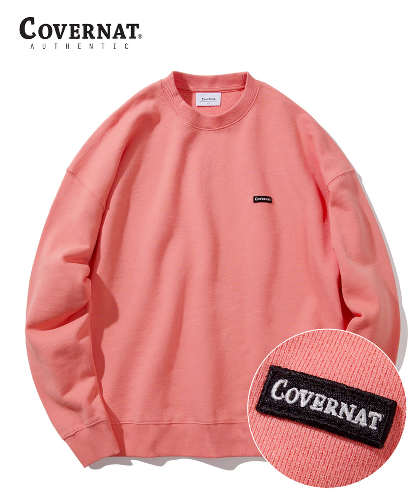Covernat Wapen Authentic Crewneck Sweatshirt Citrus Pitch  - HALLYU MART