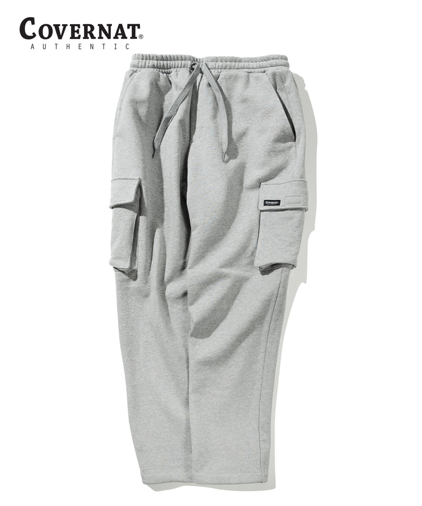 Covernat Cargo Sweat Pants Grey  - HALLYU MART