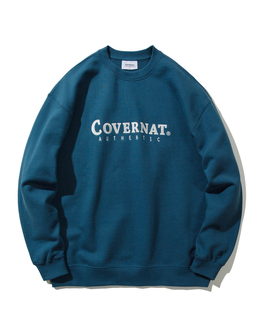 Covernat Authentic Logo Crewneck Sweatshirt  - HALLYU MART