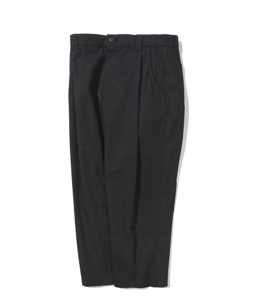 Covernat One Tuck Wide Pants  - HALLYU MART