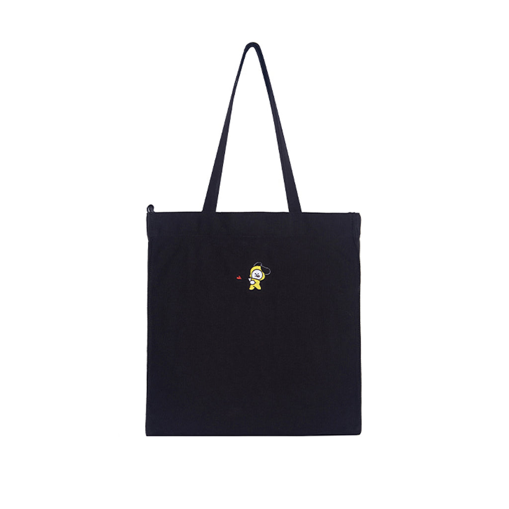 Spao BT21 Chimmy Eco Bag Black