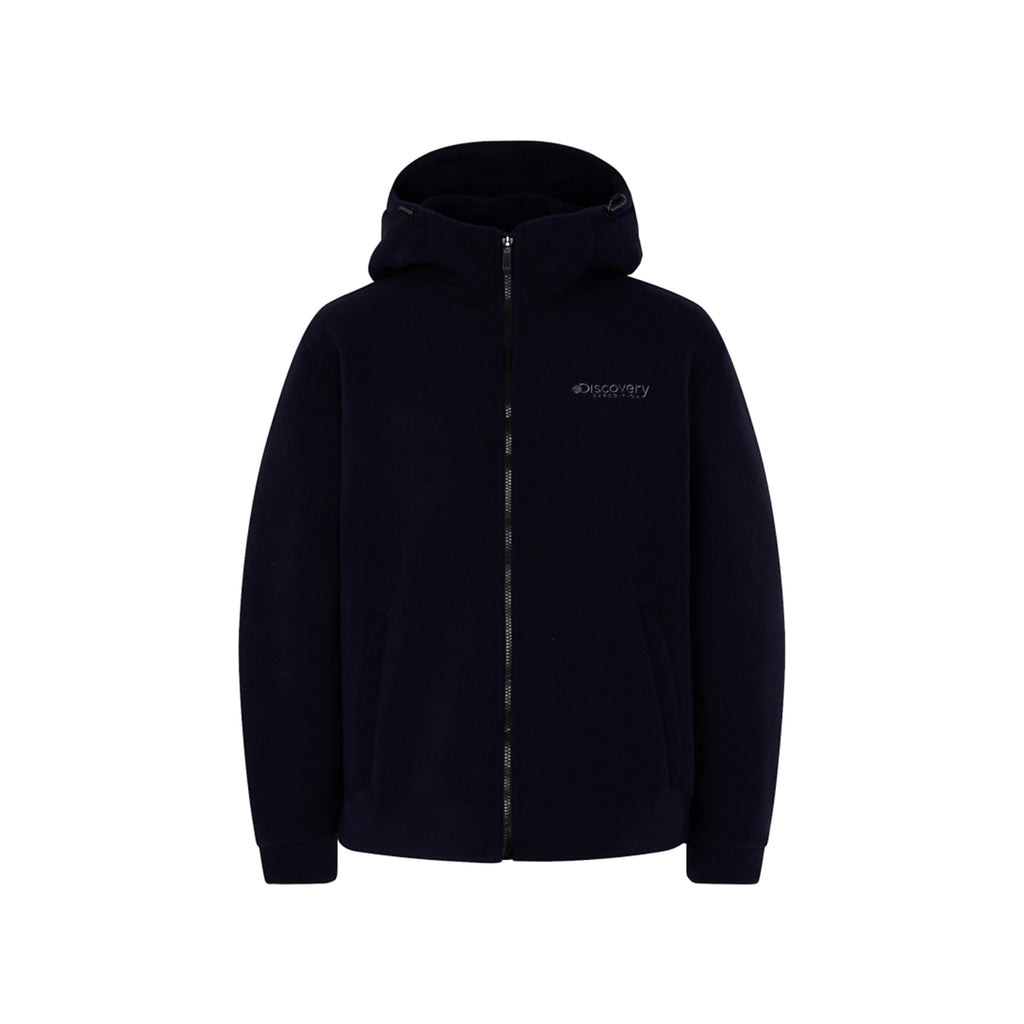Discovery Expedition Boding Fleece Hoodie Jackets Dark Navy DMSS61961-DN