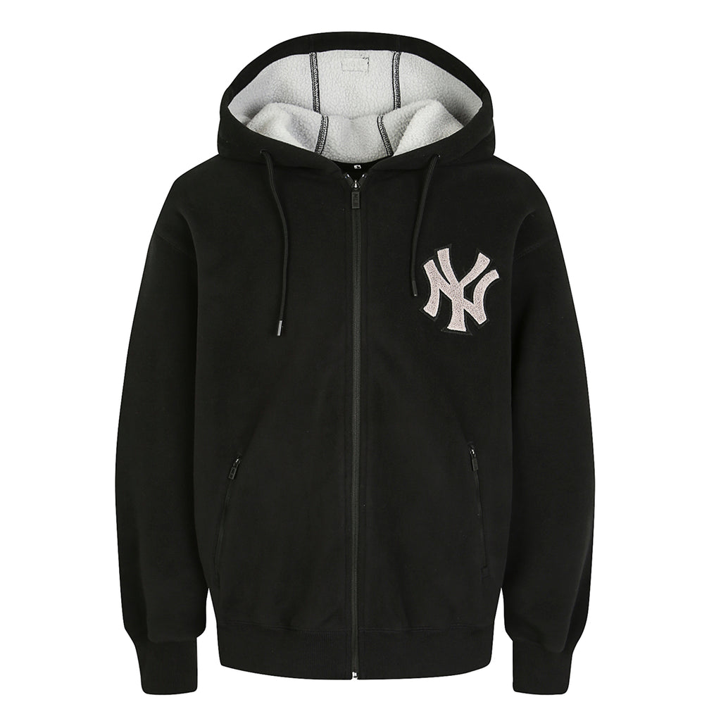 MLB New York Yankees Base Zip-Up Hoodie Black 31TRF1961-50L