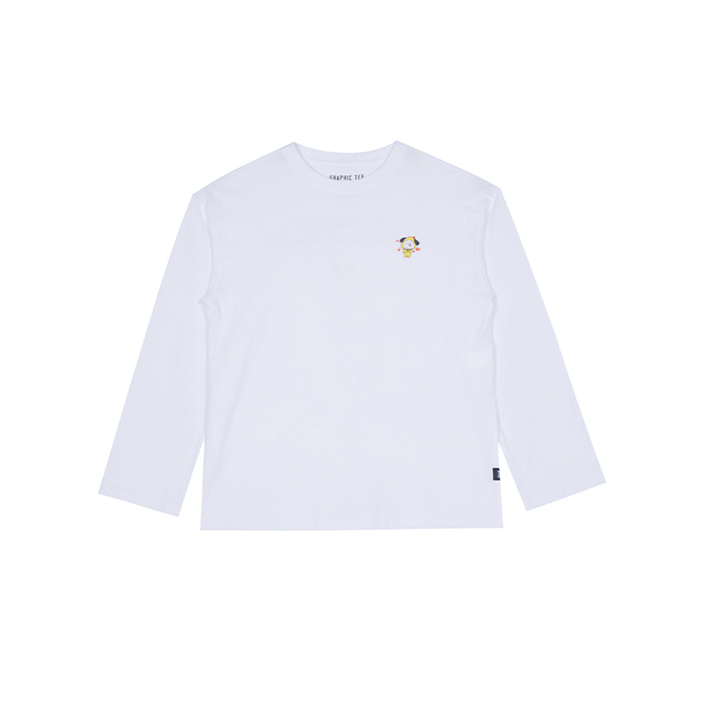 Spao BT21 Chimmy Long Sleeve T-shirts Ivory