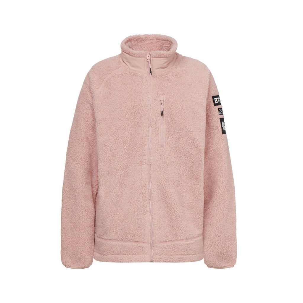 Kolon Sport BT21 Chimmy Fleece Jacket Light Pink