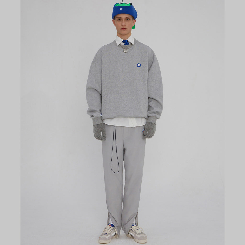 Adererror Stone Long Sweatshirt Grey