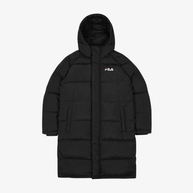 2019 F/W New Fila Light Long Down VER 3.0 Jackets Black FS2DJB4002X_BLK-Fila-HALLYU MART