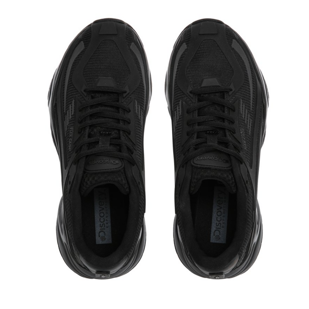 Discovery Expedition Jogger Cage Shoes Black DXSHX2041-BK  - HALLYU MART