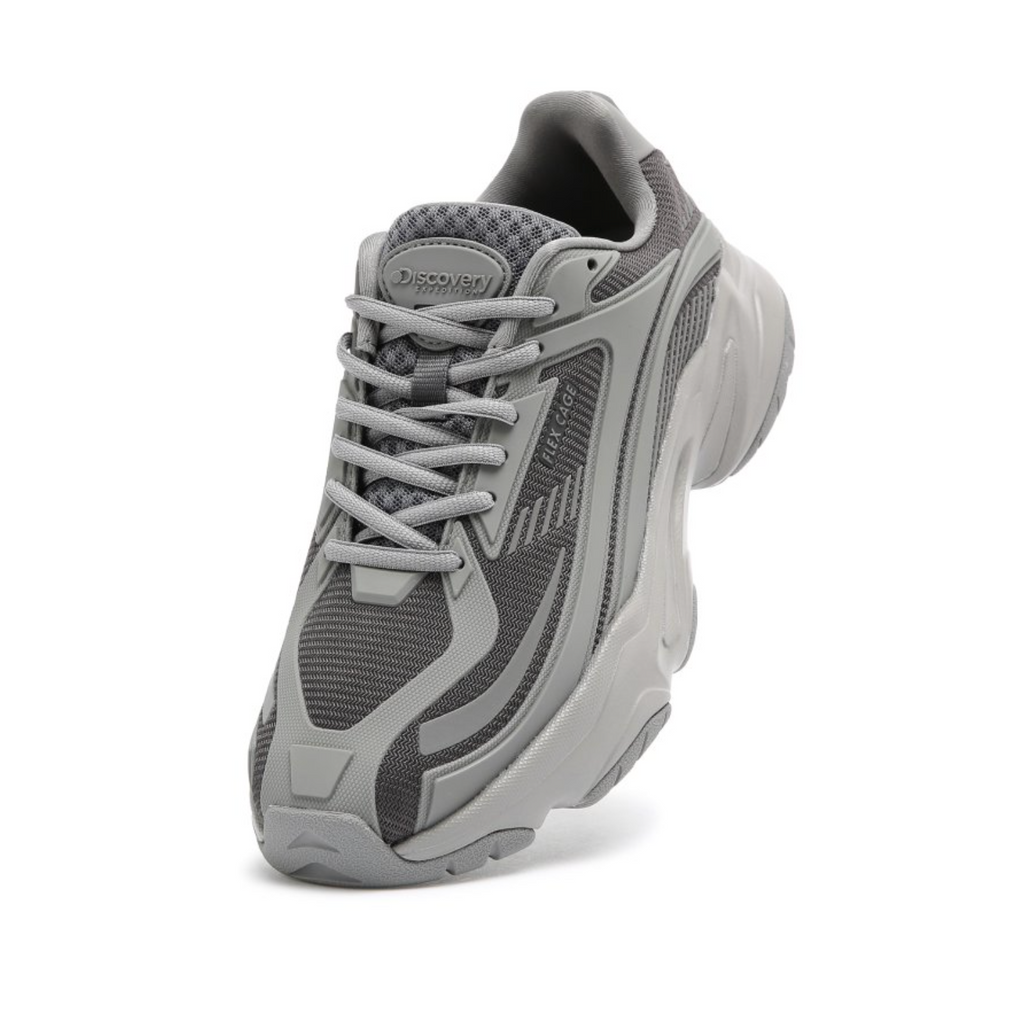 Discovery Expedition Jogger Cage Shoes Grey DXSHX3041-GR - HALLYU MART
