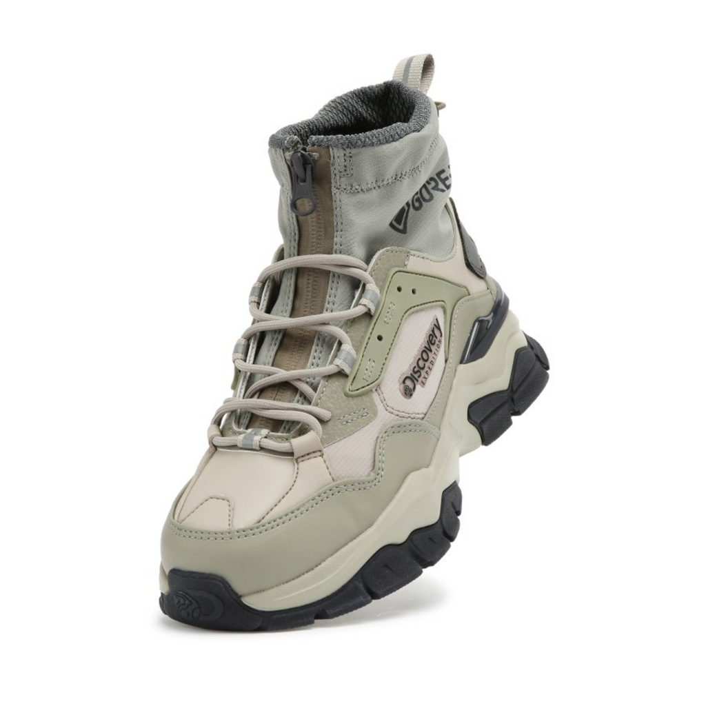 Discovery Expedition Bucket Dwalker V2 MID Shoes Khaki DXSHD3061-KH - HALLYU MART