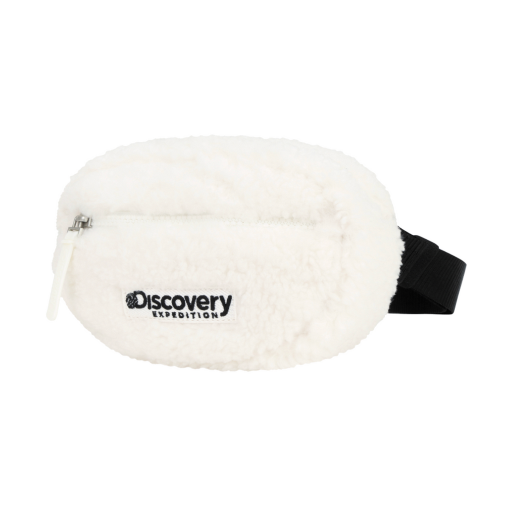 Discovery Expedition Fleece Two Way Hip Sack Cream DKHS71061-CR  - HALLYU MART