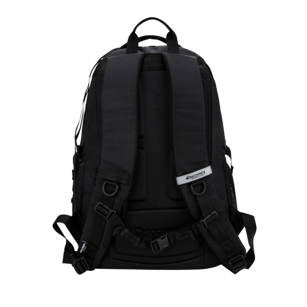 Discovery Expedition Like Air Big Logo Backpack Black DXBK34041-BK  - HALLYU MART