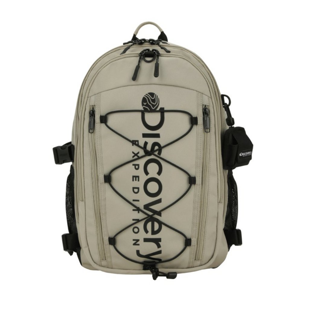 Discovery Expedition Like Air String Backpack Beige DXBK35041-BG  - HALLYU MART