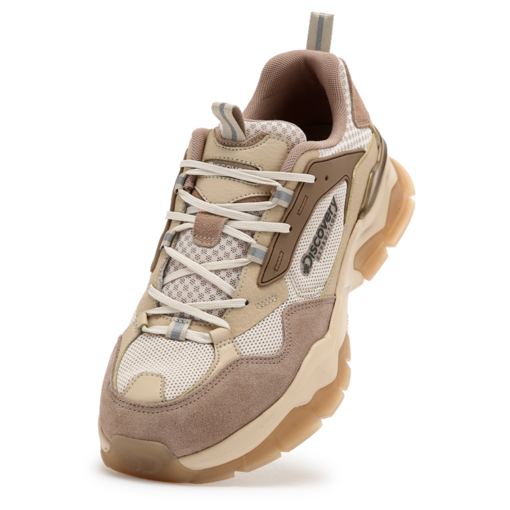 Discovery Expedition Bucket Dwalker V2 Shoes Beige DXSHA6041-BG - HALLYU MART